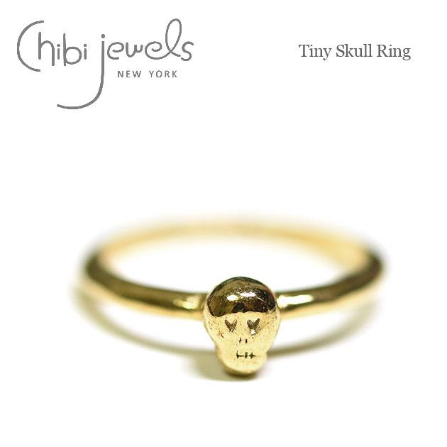 【待望の最新作】≪chibi jewels≫ チビジュエルズボヘミアン スカル ゴールドリング 指輪 Rose Thorn Ring (Gold)【レディース】【楽ギフ_包装】