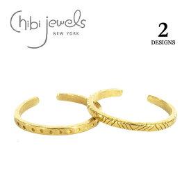 【再入荷】【お買い物マラソン 1000円OFFクーポン配布中】≪chibi jewels≫ チビジュエルズボヘミアン 全2デザイン インディアン トライアングル&ドット C型 2WAY リング イヤーカフ Indian Rings (Gold)【レディース】