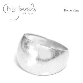 【STORY / GISELe 雑誌掲載】【お買い物マラソン 1000円OFFクーポン配布中】≪chibi jewels≫ チビジュエルズボリューム シルバー リング 指輪 Dome Ring (Silver)【レディース】