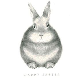 【再入荷】≪Dear Hancock≫ ディア ハンコックウサギがモチーフのカワイイカード! Happy Easter Card【楽ギフ_包装】【楽ギフ_メッセ入力】【代筆OK】【RCP】