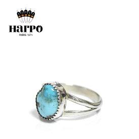 【再入荷】【10%OFFクーポン配布中】≪HARPO≫ アルポ天然石 ターコイズ シルバー リング SV925 Turquoise Ring (Silver)【レディース】 ワンマイルコーデ