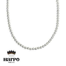【予約販売 8月入荷】【CLASSY 雑誌掲載】【STORY 雑誌掲載】≪HARPO≫ アルポシルバー ボールチェーン ネックレス SV925 ナバホパール Silver Necklace (Silver)【レディース】 ワンマイルコーデ