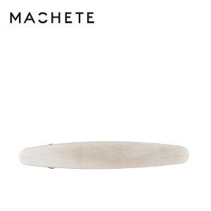 【待望の最新作】≪MACHETE≫ マシェット石膏色 オフホワイト ベージュ 楕円形 オーバル バレッタ (Alabaster)【レディース】【プレゼント ギフト ラッピング】