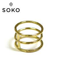 ≪SOKO≫ゴールドリング