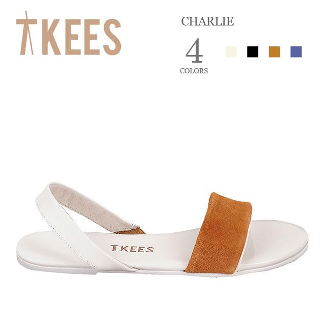≪TKEES≫ ティキーズ全4色 本革レザー バックストラップ ベルトサンダル (CHARLIE)【ネコポス不可】【レディース】