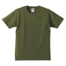 キッズ ミリタリーTシャツ CITYグリーンミリタリーカラーKIDS T-SHIRTS