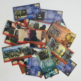 送料無料 コレクター限定アイテム スターウォーズ トレーディングカード赤タブ42枚セットエピソード1 セレクトセット 全て番号違いです