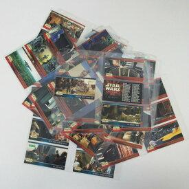 コレクター限定アイテム スターウォーズ トレーディングカード完全88枚セットケース入り エピソード1 セレクトセット レアを含みます