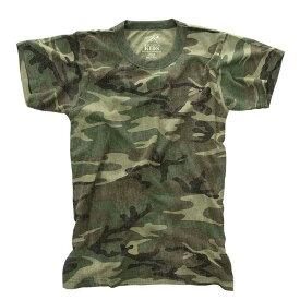 子供 迷彩Tシャツ ダンスカラー ミリタリー USED加工 キッズ ロスコアメリカ直輸入 ROTHCO KID CAMO T-SHIRTS 米軍 レプリカ仕様