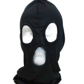黒い 目出し帽子 フルフェイス マスク ロスコROTHCO 3穴式覆面マスク ドライ