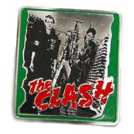 UK ロック バックル刻印入り ザ・クラッシュ The Clashパンクロック 海外ロック バンド ツアーtee
